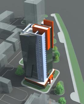 Расчет строительства 26-ти этажного односекционного жилого дома