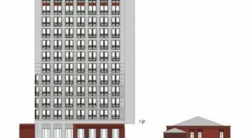 В центре Новосибирска возведут 14-этажную гостиницу на скандальном участкепо адресу ул. Чаплыгина, 54