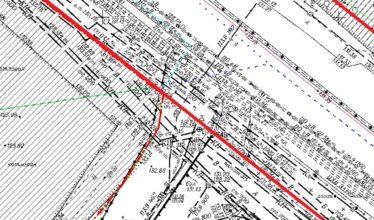 Согласование и перенос красных линий за границы земельного участка Заказчика