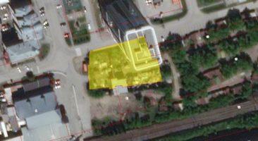 Земельный участок 0,21 Га и здание гаража ул. Линейная Заельцовский район