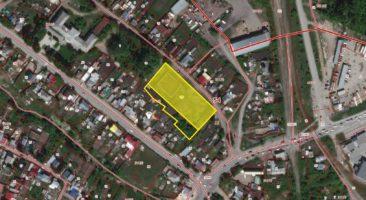Земельный участок 0,44 Га ул. Грузинская Заельцовский район