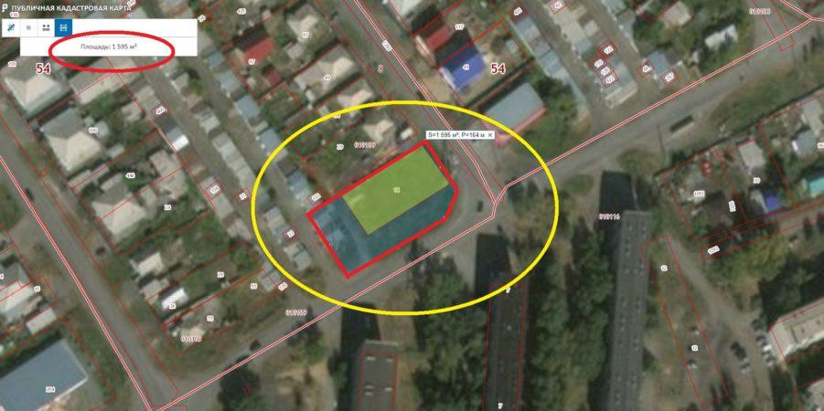 Земельный участок 726 кв.м г. Карасук ул. Калинина Карасукский район Новосибирская обл.