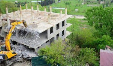 В Госдуму внесен законопроект об ответственности за самовольное строительство
