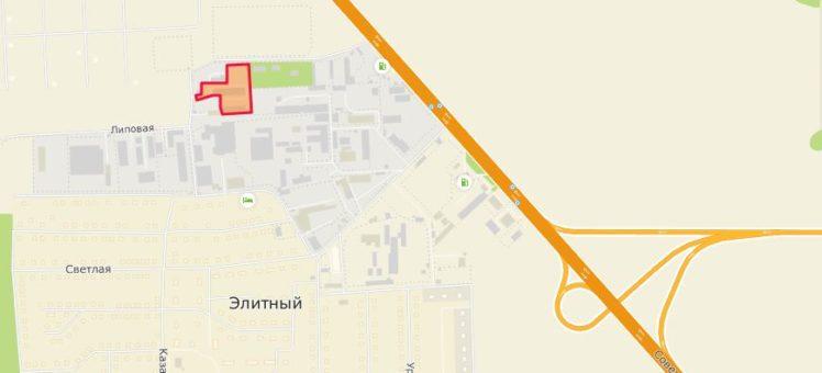 Земельный участок 1,37 Га Советское шоссе п. Элитный Мичуринский сельсовет Новосибирский район