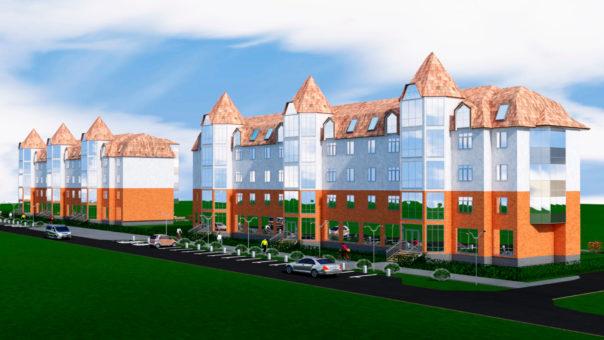 ЖК Бавария строящийся элитный жилой комплекс в г. Юрга