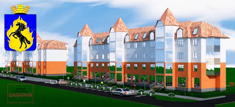 Масштабный инвестиционный проект строительства нового микрорайона Бавария Юрга Кемеровская область