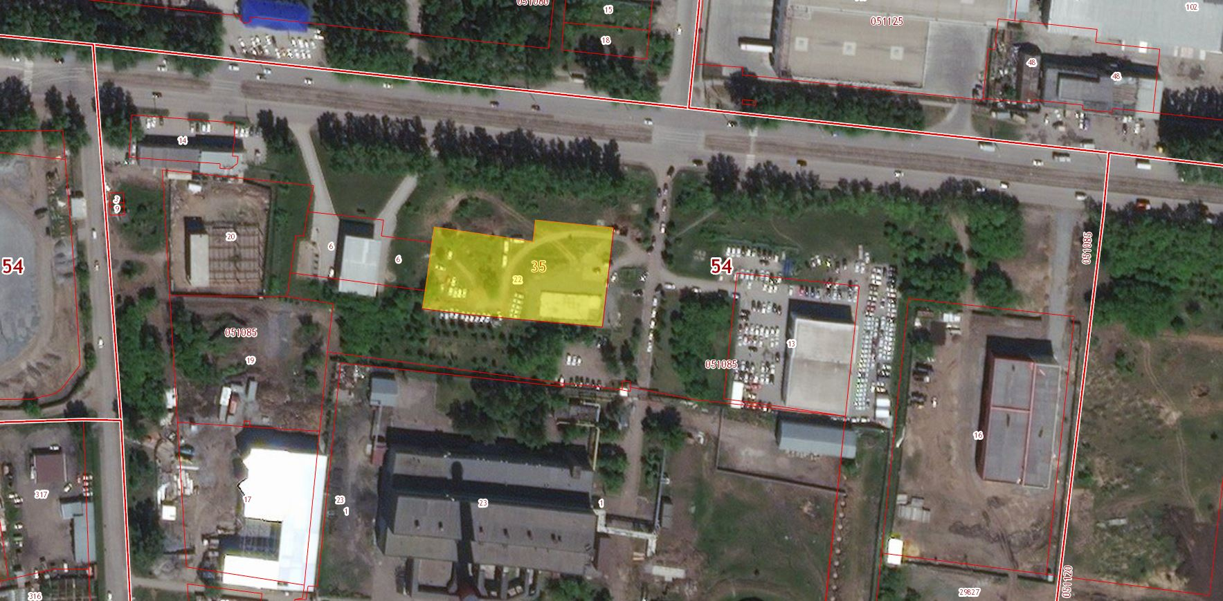 54:35:051085:22 Новосибирская область, г Новосибирск, ул Петухова