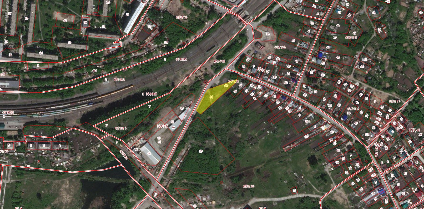 54:35:053130:64 Новосибирская область, г Новосибирск, ул Бронная
