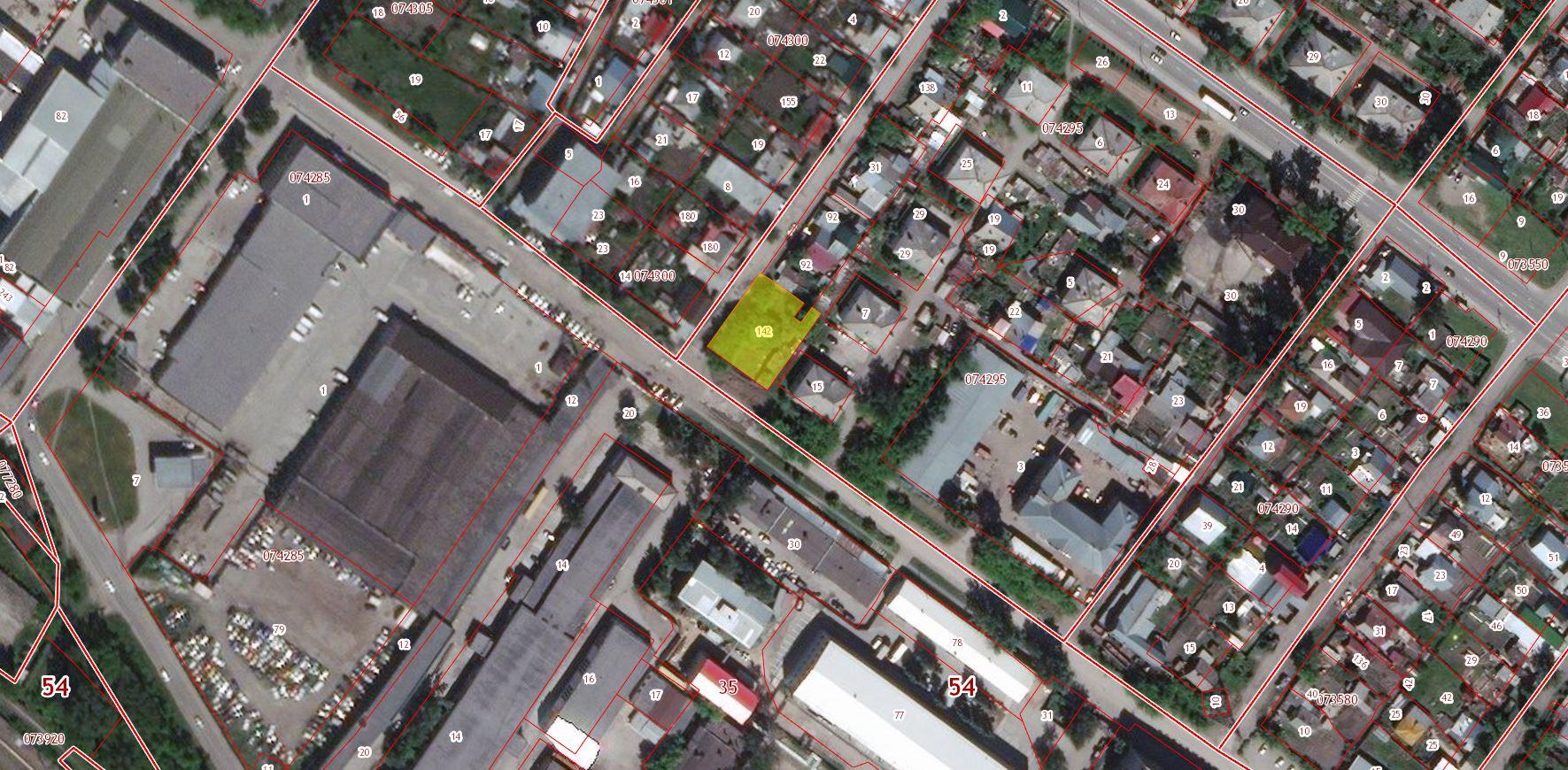 54:35:074295:142 Новосибирская область, г Новосибирск, ул Нижегородская