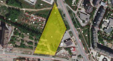 Земельный участок 2,06 Га ул. Тюленина Калининский район