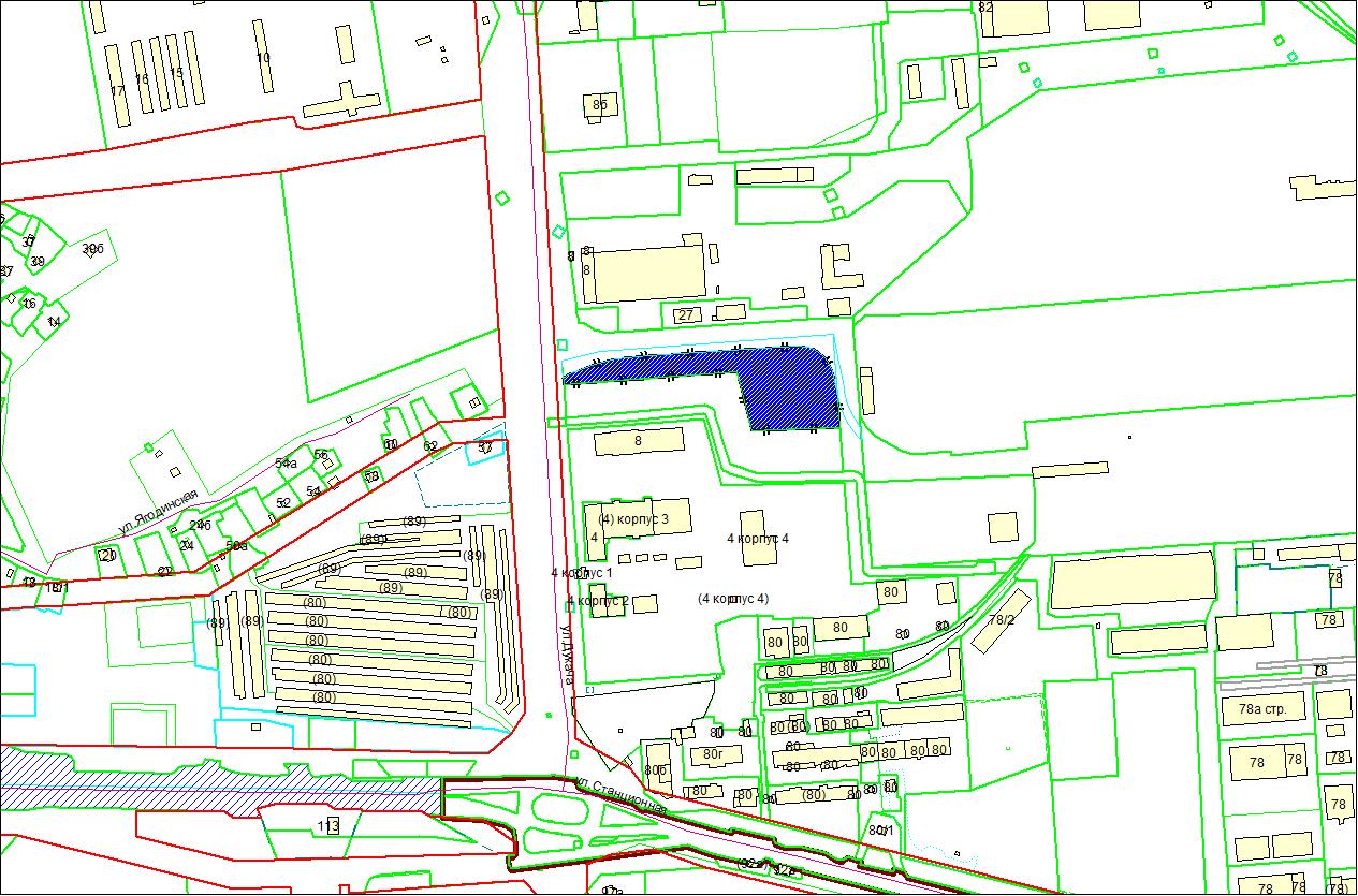 Схема расположения земельного участка площадью 1,3488 га по адресу: ул. Дукача, Ленинский район