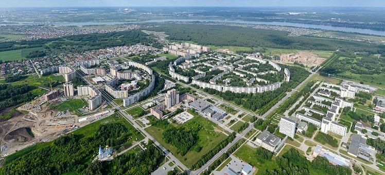 Земельные участки под строительство рабочий поселок Краснообск ВАСХНИЛ Новосибирский район НСО