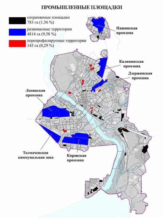 Промышленные площадки Новосибирск