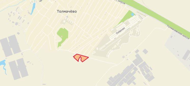 Земельный участок 3,59 Га ул. Веселая Толмачево Толмачевский сельсовет Новосибирский район