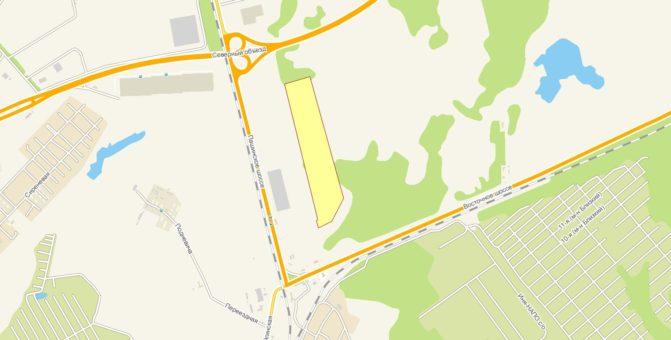 Земельный участок с кадастровым номером 54:19:112001:1410