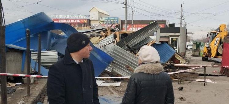 Что будет с киосками и времянками в Новосибирске