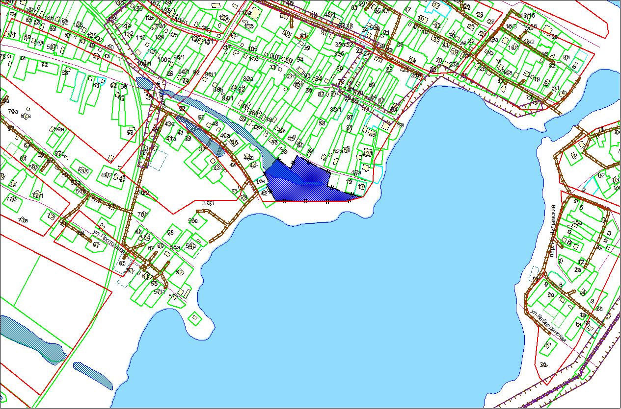 Схема расположения земельного участка по адресу: ул. 2-я Шоссейная, з/у 30, Ленинский район