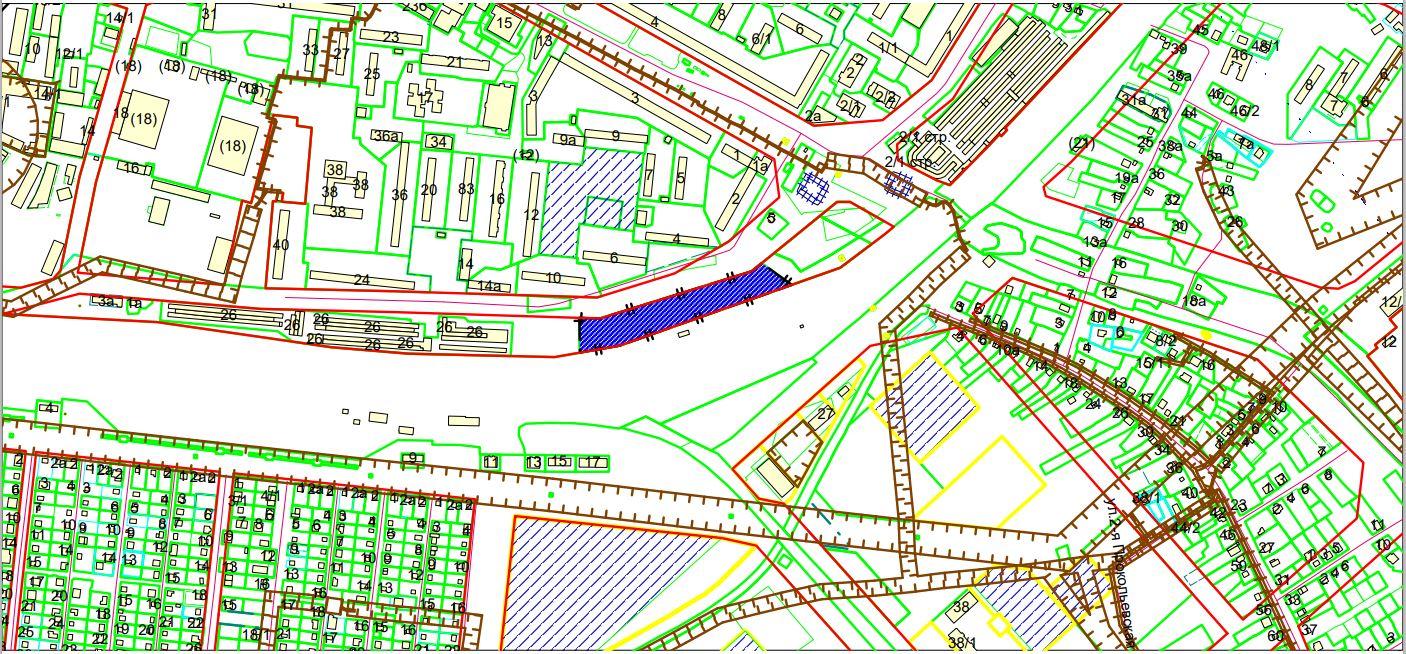 Схема расположения земельного участка по адресу: ул. Чемская, з/у 1а, Кировский район