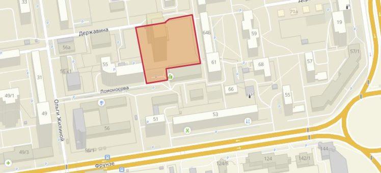 Мэрия выдала новое разрешение на строительство ООО СЗ Дом-строй на улице Державина в центре Новосибирска