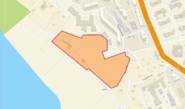 На участке между улицами Прибрежная и Перекатная начали возводить жилой комплекс