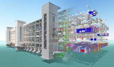 BIM технологии проектирование строительство моделирование обследование объектов промышленного гражданского назначения