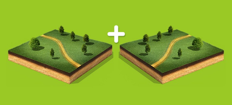 Как правильно объединить земельные участки