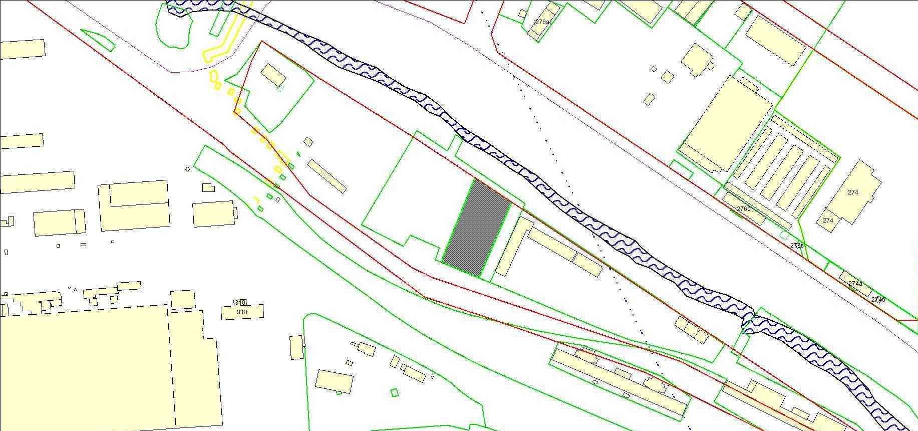 Схема расположения земельного участка по адресу: ул. Большая, з/у 101, Ленинский район