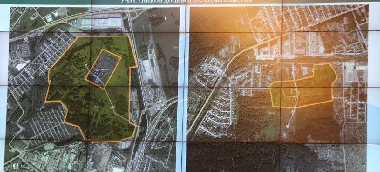 Из бюджетных кредитов под Новосибирском построят два новых жилмассива